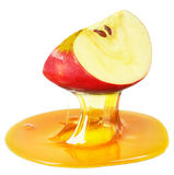 Apple and honey Stock Photos