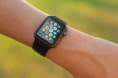 Apple-horloge Stock Afbeelding