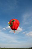 Apple Hot Air Balloon Royalty Free Stock Photography