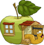 Apple house Royalty Free Stock Image