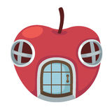 Apple house Royalty Free Stock Photos