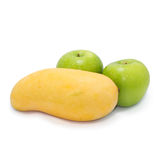 Apple i mango Zdjęcia Stock