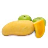 Apple i mango Fotografia Stock