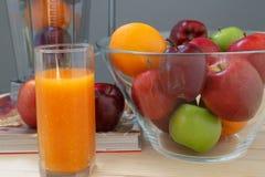 Apple i pomarańcze Obrazy Stock
