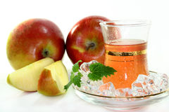 Apple ice tea Stock Photo