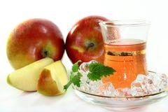 Apple ice tea Stock Photo