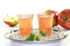 Apple iced tea Stock Image