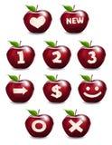 Apple icon series Stock Photo