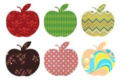 Apple icon set Stock Photo