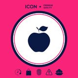 Apple icon symbol Royalty Free Stock Images