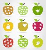 Apple icons3 Zdjęcie Stock