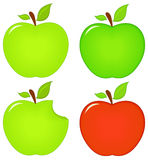 Apple icons Royalty Free Stock Image