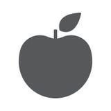 Apple-Ikonenvektor, flaches Design Lizenzfreies Stockfoto