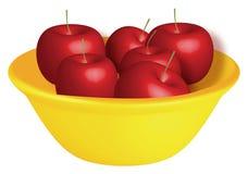 Apple illustration Royalty Free Stock Photos