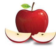 Apple, illustration Royalty Free Stock Photos
