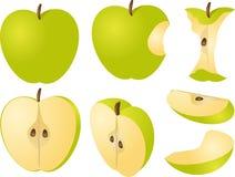 Apple illustration Stock Photography