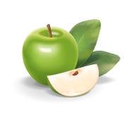 Apple illustration Arkivfoto