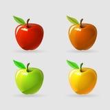 Apple - illustration de vecteur Photographie stock