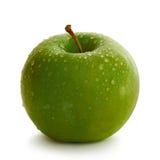 Apple ilustrou como um coração Imagens de Stock