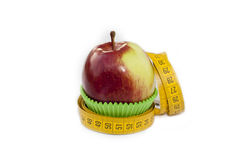 Apple im Backencup Lizenzfreie Stockfotos