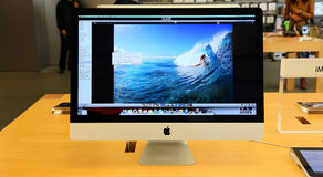 Apple imac Fotografie Stock