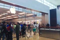 Apple immagazzina Fotografia Stock