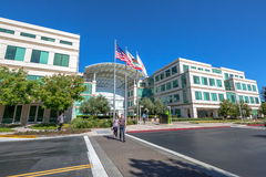 Apple Inc Headquarter Stock Image