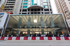 Apple Inc. Opens New Hong Kong Store in Canton Road Royalty Free Stock Images