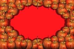 Apple incornicia Fotografia Stock