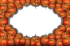 Apple incornicia Fotografie Stock