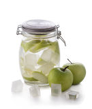 Apple infuse water Royalty Free Stock Images