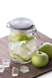 Apple infuse water Royalty Free Stock Photos