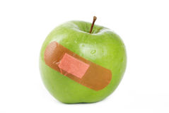 Apple injury Stock Photography