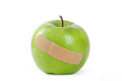 Apple injury Stock Photo