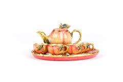 Apple Inspired Mini Tea Set Stock Image