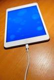 Apple ipad μίνι με την επίδειξη αμφιβληστροειδών Στοκ εικόνα με δικαίωμα ελεύθερης χρήσης