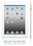 Apple iPad 2 Weiß lizenzfreie abbildung