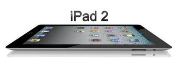 Apple iPad 2 Wi-Fi 64Gb + 3G Side View stock illustration