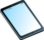 Apple ipad. Illustration art of a apple ipad with isolated background Stock Images