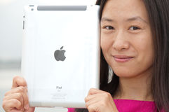 Apple ipad Royalty Free Stock Photography