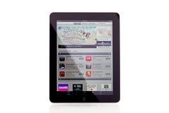 Apple iPad APP-Speicher lizenzfreie stockfotos