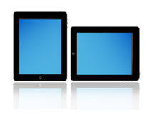 Apple Ipad Touch Screen Tablet Pc Stock Photos