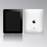 Apple ipad touch tablet pc Royalty Free Stock Photo
