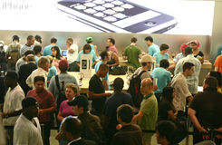 Apple IPhone Imagen de archivo libre de regalías