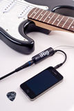 Apple iPhone iRig Stock Image
