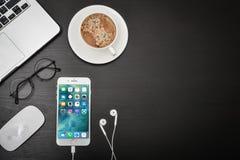 Apple-iPhone 8 Plus Stockfotografie
