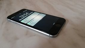 Apple-iphone6s grijze foto stock foto's