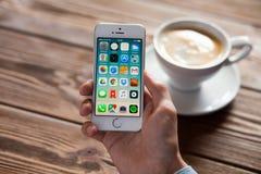 Apple iPhone SE Stock Image