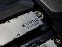 Apple iPhone Taptic Engine vibration module Stock Photography