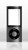 Apple iPod. On the gray background Stock Photos